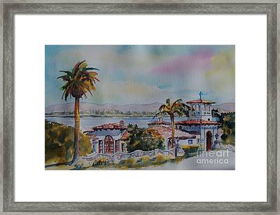 The Neighborhood Church Framed Print