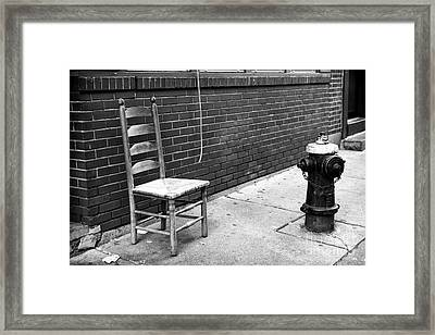 The Neighborhood Framed Print by John Rizzuto
