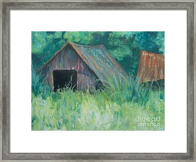 The Neighborhood Framed Print by Mary Lynne Powers