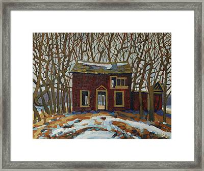 The Neighbour's Framed Print by Phil Chadwick