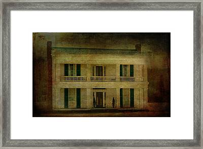 The Neil House Framed Print