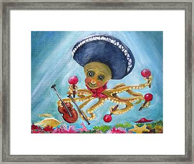 The Neptunes -- Octoband Framed Print