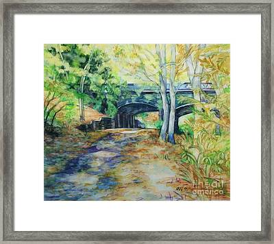 The Nethermead Arches Framed Print