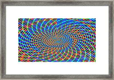 The Network Framed Print