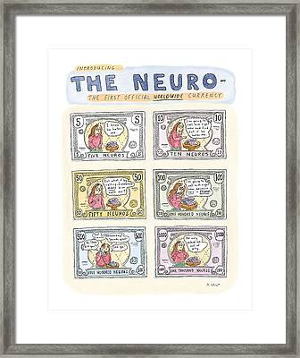 The Neuro  -   The First Official Worldwide Framed Print