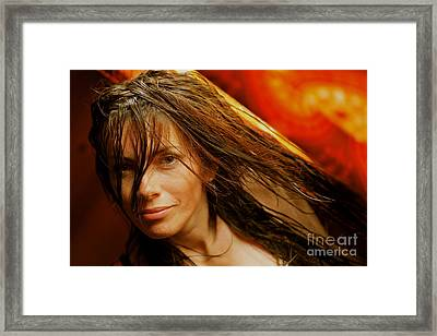 The Never-ending Love Story . Framed Print by  Andrzej Goszcz