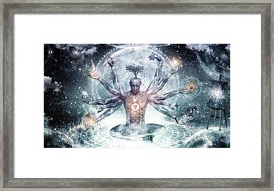 The Neverending Dreamer Framed Print