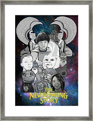 The Neverending Story Framed Print by Gary Niles