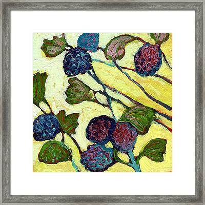 Home Decor Blackberry With Leaves Art//Canvas Print C Wall Art Poster