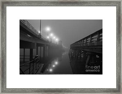 The New And Old Framed Print