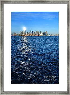 The New Beacon Framed Print by Olivier Le Queinec