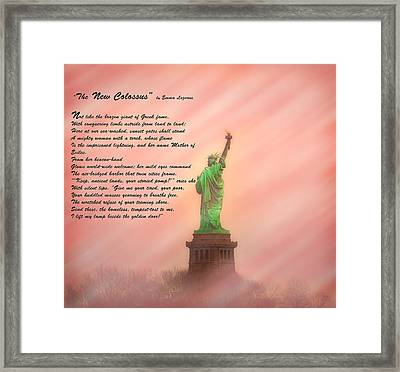 The New Colossus Framed Print by Bill Cannon