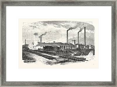 The New Forge At Woolwich, Uk, Britain, British Framed Print