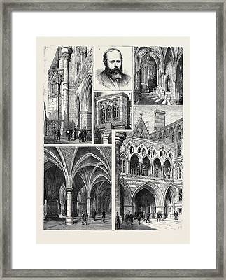 The New Law Courts And Their Architect 3. George Edmund Framed Print