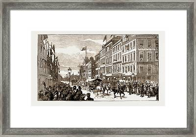 The New Municipal Buidlings At Glasgow, Scotland Framed Print