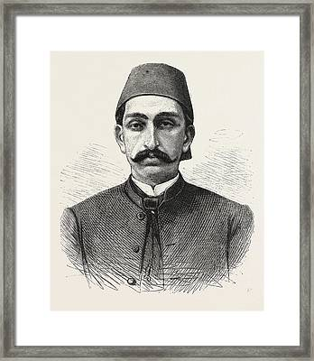 The New Sultan Of Turkey, Hamid II Framed Print