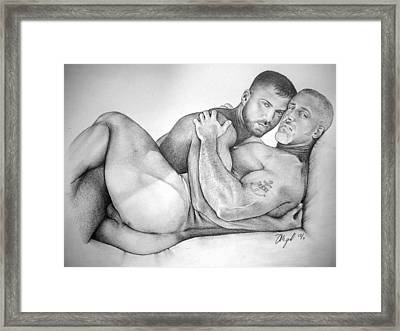 The New Tattoo  Framed Print by Mike Gonzalez