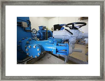 The New Tongue Gill Hydro Turbine Framed Print by Ashley Cooper