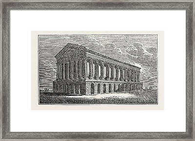 The New Town Hall, Birmingham, Uk, Britain Framed Print