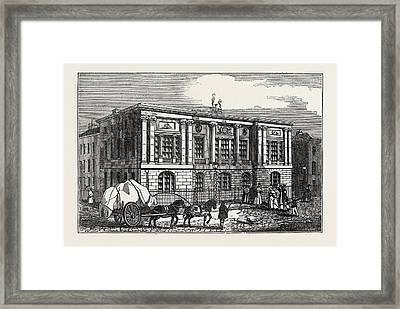The New Trinity House, On Tower Hill, Uk, Britain Framed Print