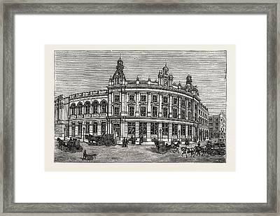 The New Vestry Hall And Library, Charing Cross Road Framed Print