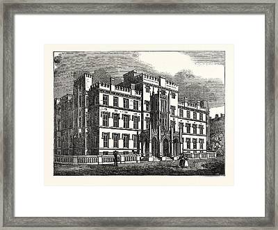The New Westminster Hospital, London, Uk, Britain Framed Print