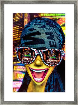 The New York City Tourist Framed Print