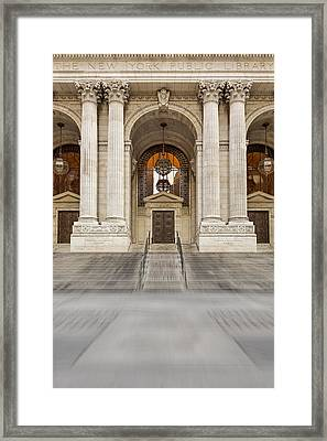 The New York Public Library Framed Print