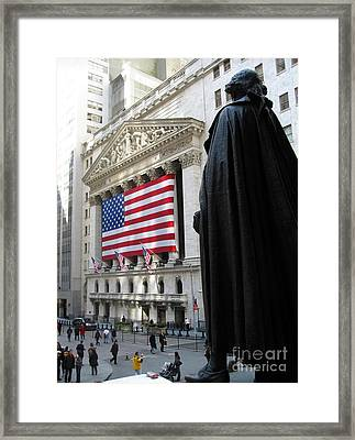 The New York Stock Exchange Framed Print by RicardMN Photography