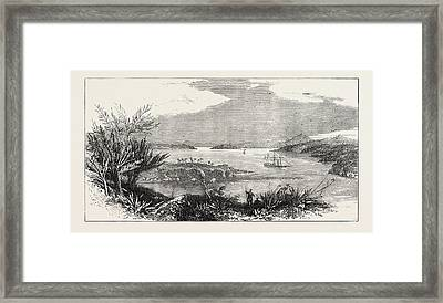 The Newly-discovered Harbour Of Mto Mtwara Framed Print