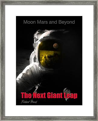 The Next Giant Leap Framed Print