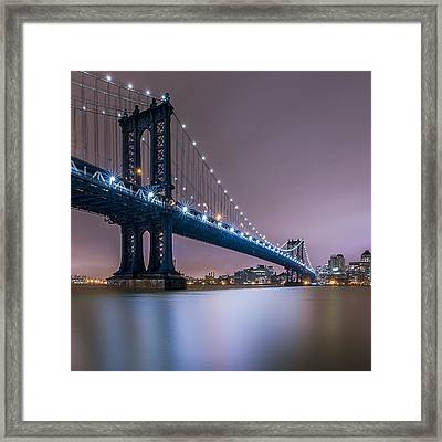 Framed Print featuring the photograph The Night B4 Christmas  by Anthony Fields