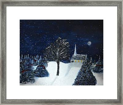 The Night Before Christmas Framed Print by Dick Bourgault