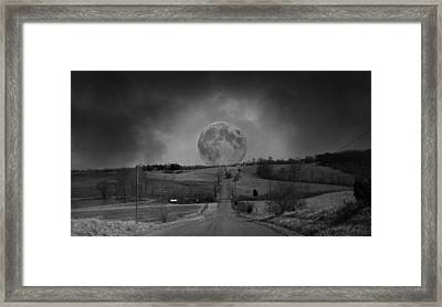 The Night Begins Framed Print