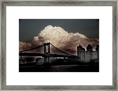 The Night Is Coming Framed Print