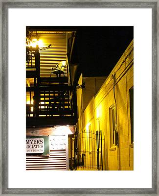 The Night Is So Alone Now Framed Print by Guy Ricketts