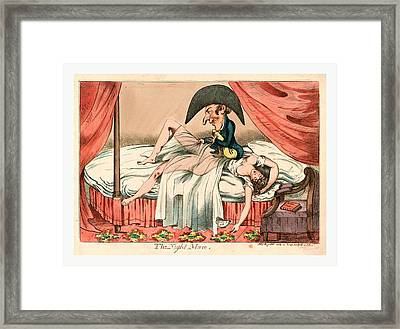 The Night Mare, England Ca Framed Print