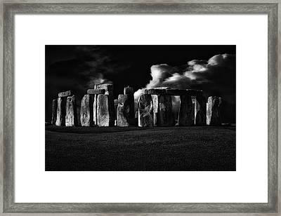 The Night Of Stonehenge Framed Print