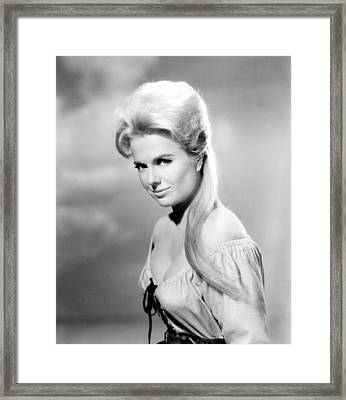 The Night Of The Grizzly, Martha Hyer Framed Print by Everett