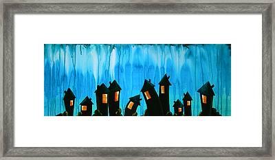 The Night Owls Framed Print