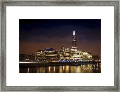The Night Shard Framed Print by Donald Davis