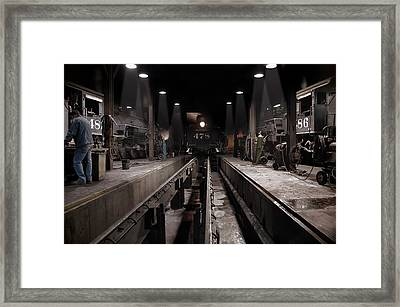 The Night Shift Framed Print by Ken Smith