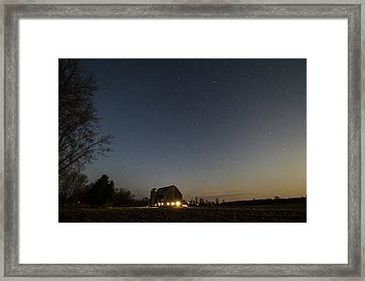 The Night Shift Framed Print
