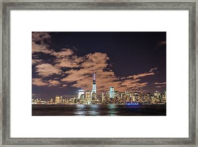 The Night Side Framed Print by Kristopher Schoenleber