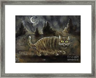 The Night Stalker Framed Print
