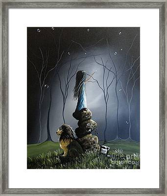 The Night Watchman By Shawna Erback Framed Print