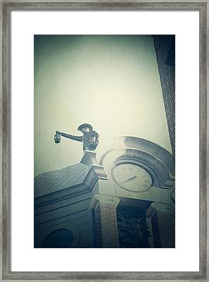 Framed Print featuring the photograph The Night Watchman by Trish Mistric