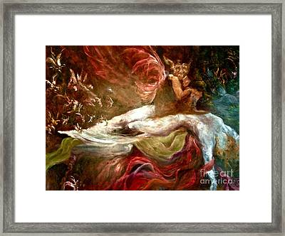 The Nightmare Framed Print by Michelle Dommer