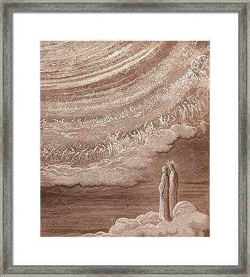 The Ninth Heaven Framed Print by Gustave Dore