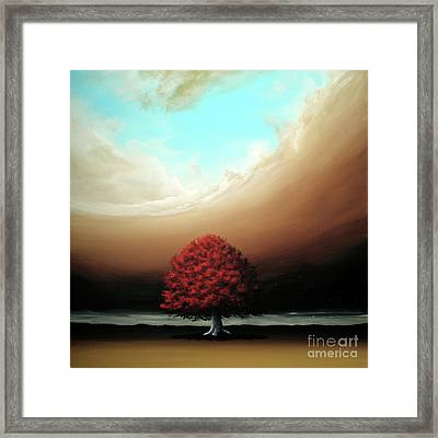 The Noble Art Of Simplicity Framed Print